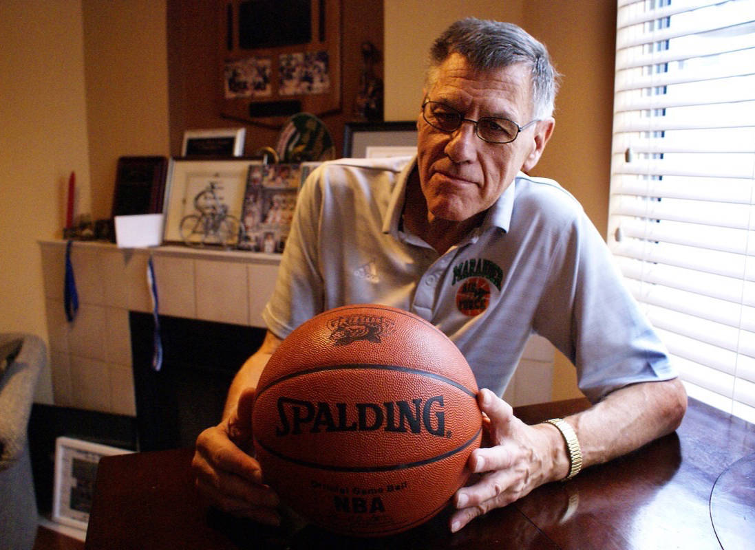 (THE NEWS/files)                                For the first time in 39 years, hall of fame basketball coach Rich Goulet will not be behind the bench at Pitt Meadows secondary.