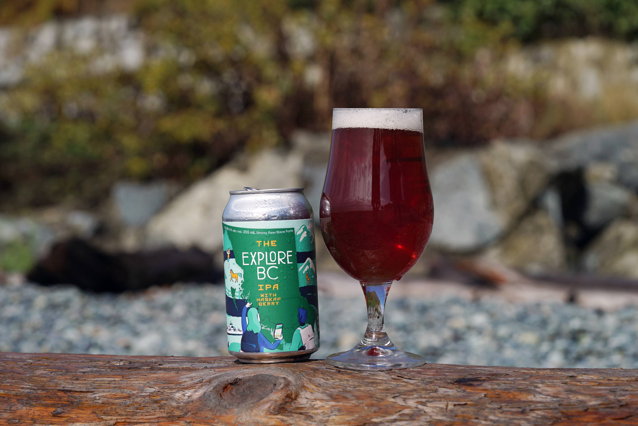 Explore BC IPA, a new limited-edition craft beer, inspires British Columbians to discover their own province along BC's ale trails. BC Ale Trail photo.